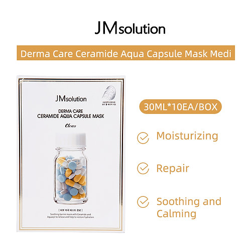 JM Solution  Derma Care Ceramide Aqua Capsule Mask Medi