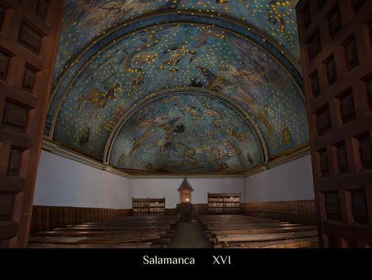 Recreación biblioteca Salamanca.