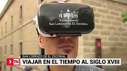 San Lorenzo 360, gafas realidad virtual