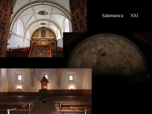 Recreación biblioteca Salamanca. Piezas