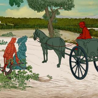 Carlos III, Aranjuez, paseo.