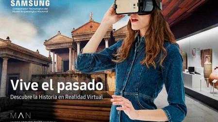 Vivir el pasado | Museo Arqueológico Nacional | Samsung | 2017