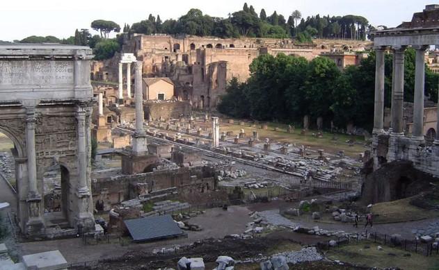 Foro de Roma, fotografía actual