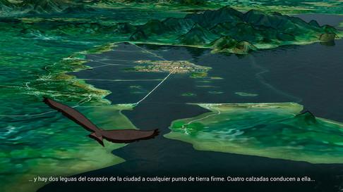 Recreación de Tenochtitlán, 1.