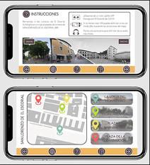San Loreno 360. Interface