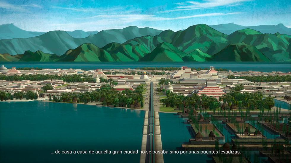 Recreación de Tenochtitlán, 2.