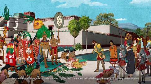 Recreación de Tenochtitlán, 6.