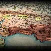 Mapa Andalucía medieval