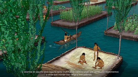 Recreación de Tenochtitlán, 3.