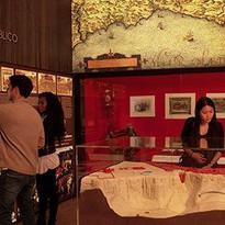 """Vista del Museo. Audiovisual """"Historia de la Plaza de Toros de Ronda"""""""