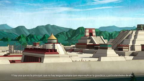 Recreación de Tenochtitlán, 4.