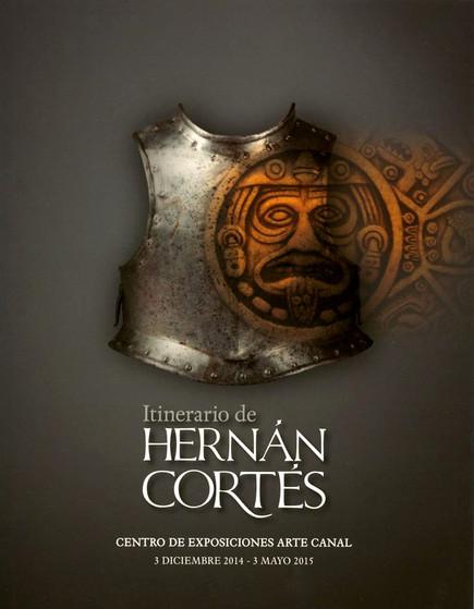 Itineranio Hernan Cortés, cartel.