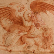 ¿Leonardo Da Vinci? Leon y Dragon