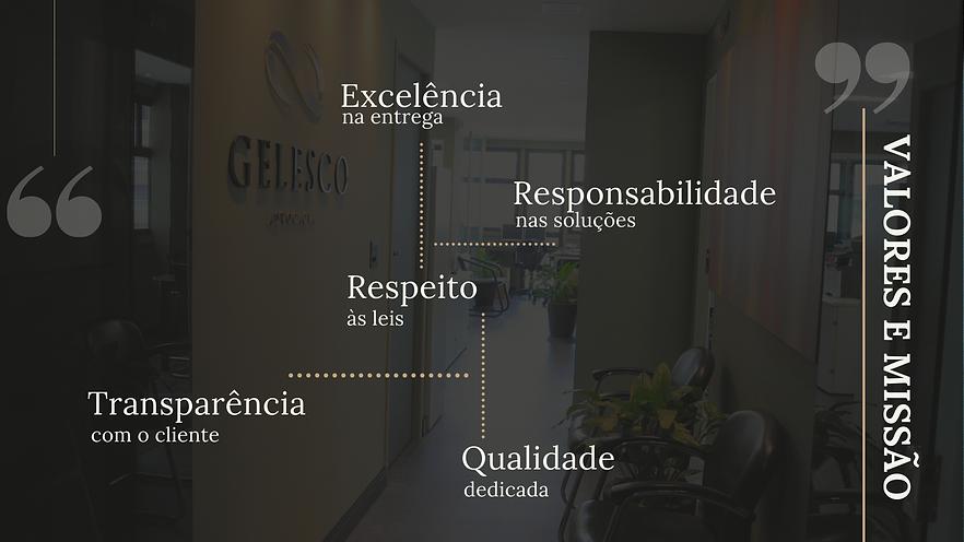 Valores e Missão - Gelesco Advocacia