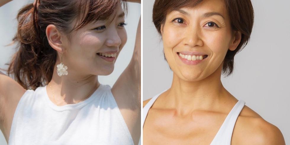 『New Connectives ~自分自身を解放する~』 髪林靖子×西畑亜美 スペシャルYogaイベント