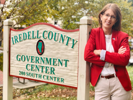 A Suggestion Turned Endeavor: Running for Iredell County Commissioner