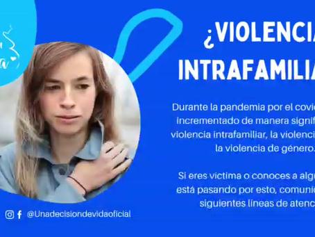¿Violencia Intrafamiliar?