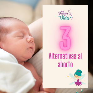 3 Alternativas al aborto