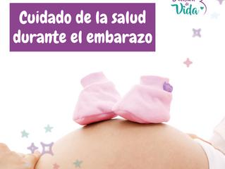 Cuidado de la salud durante el embarazo