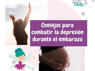 Consejos para combatir la depresión en el embarazo