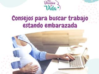 Consejos para buscar trabajo estando embarazada