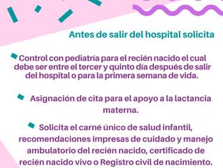 Cosas que debes hacer y saber después del parto