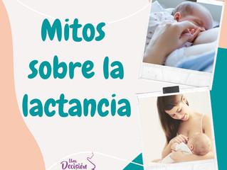 Mitos sobre la leche materna