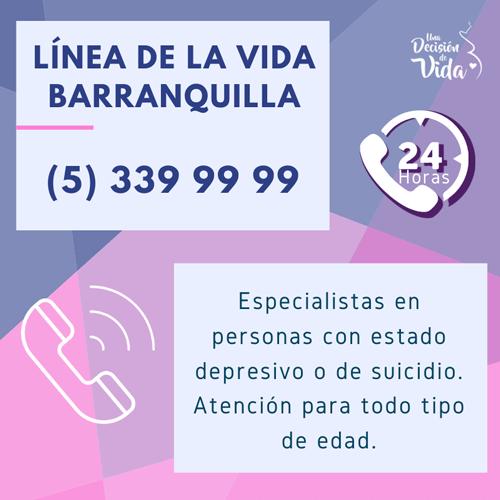 Línea de vida Barranquilla