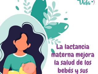 La lactancia materna mejora la salud de los bebés y sus madres
