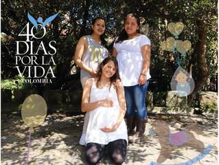 Inicia la sexta edición de 40 días por la vida en Colombia