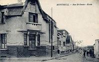Ancienne Photo Groupe scolaire Fidelis de Montreuil