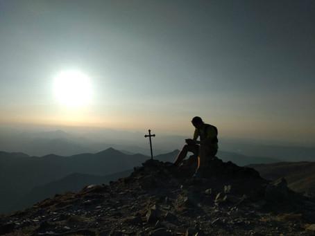 Radek Chrobák a 435km ve slovenských horách