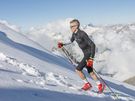 Rekord výběhu a seběhu na Ortler (3905 m.n.m.)