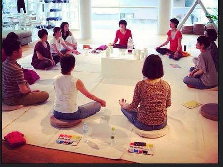 8月21日(金)月イチ瞑想ワークショップ@ハスヨガ銀座&ZOOM同時開催