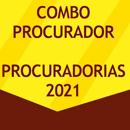 Combo Procuradorias 2021 - PGE e PGM