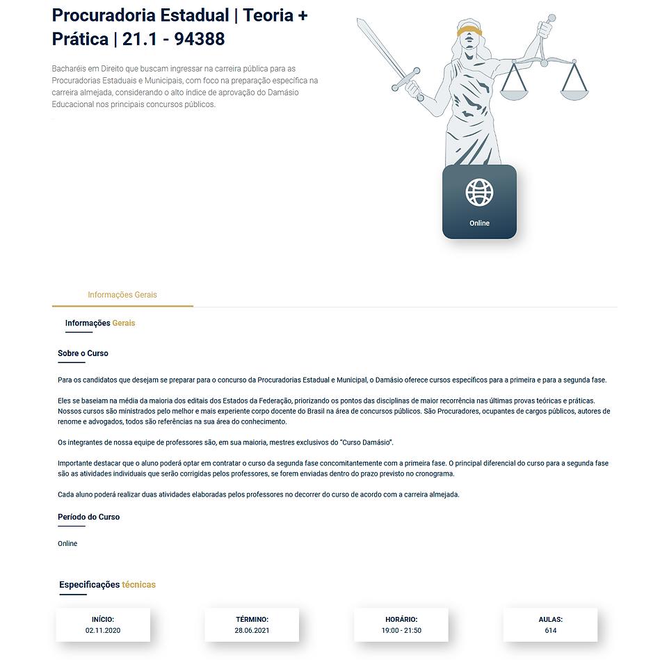 Procuradoria Estadual Teoria + Prática 2