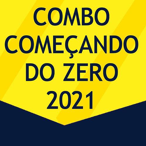 Combo Começando do Zero 2021