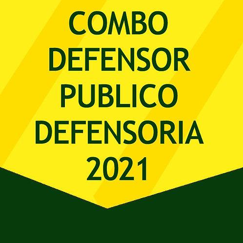 Combo Defensor Público 2021 - Defensoria