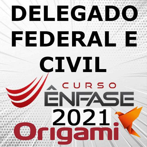 Delegado Federal e Delegado Civil - DPC | DPF [2021]