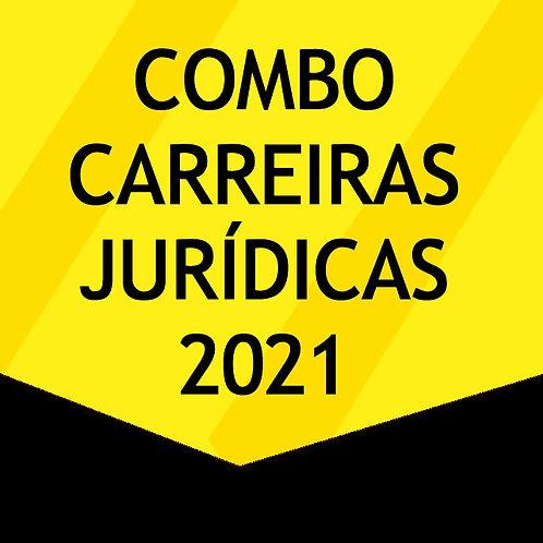 Combo Carreiras Jurídicas 2021