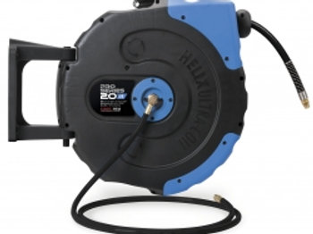 HR5-320B - Heavy Duty 20m Retractable Hose Reel - Air & Water