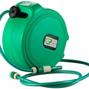 HWR-1220 - 20mtr Retractable Water Hose Reel - Green Case