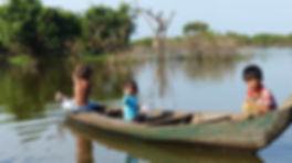 sourires des rizières, Tonlé Sap, humanitaire, aide enfants Asie du Sud-Est, Eric Ythier