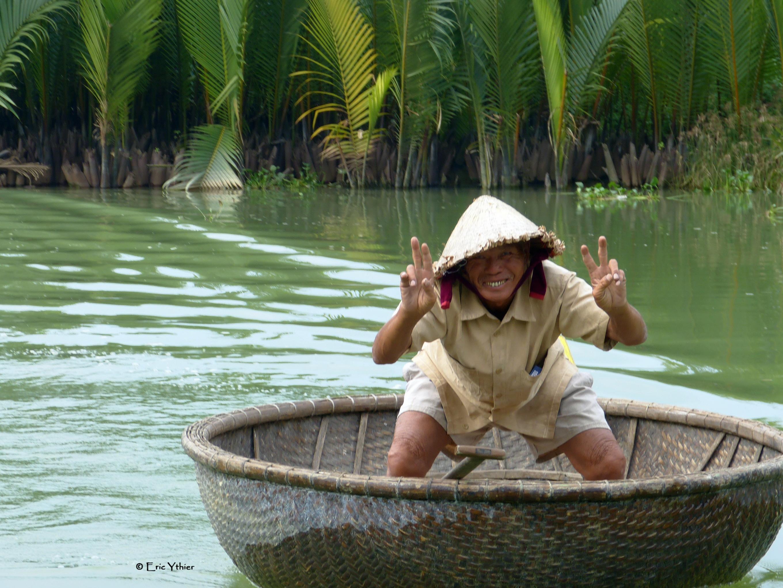 Pêcheur - Hoi An - Vietnam