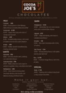 Cocoa Joe's Menu 28th June 2020.png