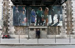 Sentinelles, rue de Vaugirard, Paris