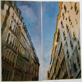 Rue Sedaine Dipt Light - Marc GOLDSTAIN 1997