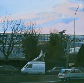 St Mande Avenue - Marc GOLDSTAIN 1999 - Oil On Canvas - Paris
