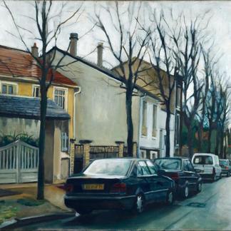 Avenue De L Arc - Marc GOLDSTAIN 2000 - Oil On Canvas - St Maur
