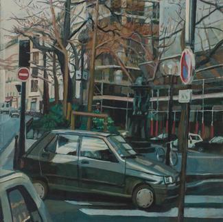La Fontaine Wallace - Marc GOLDSTAIN 1999 - Oil On Canvas - Paris - 116X76Cm